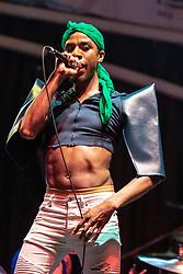 July 1, 2018 - Milwaukee, Wisconsin, U.S - Singer LEX ALLEN during Summerfest Music Festival at Henry Maier Festival Park in Milwaukee, Wisconsin (Credit Image: © Daniel DeSlover via ZUMA Wire)