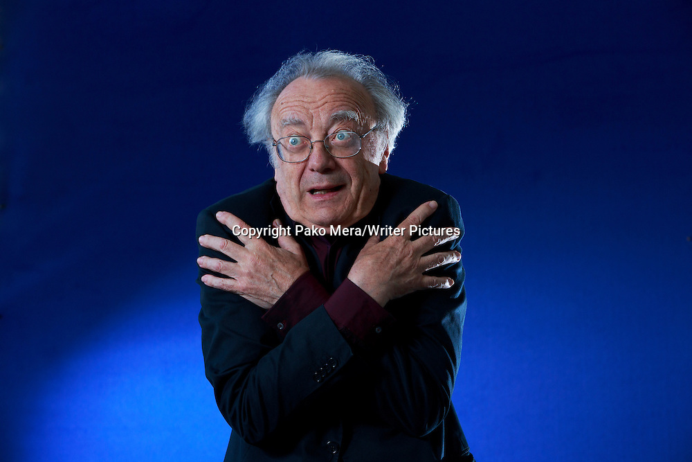 Alfred Brendel at Charlotte Square Garden for Edinburgh International Book Festival 2013. 19th August 2013<br /> <br /> Pic by Pako Mera/Writer Pictures