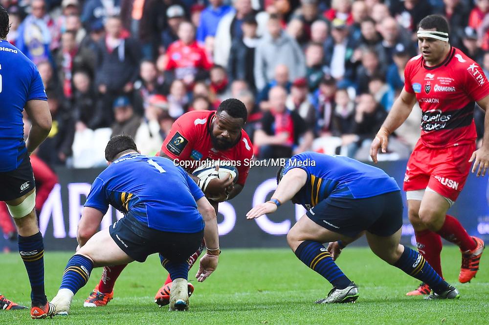 Mathieu Bastareaud - 19.04.2015 - Toulon / Leinster - 1/2Finale European Champions Cup -Marseille<br /> Photo : Andre Delon / Icon Sport