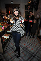 GELA NASH-TAYLOR at the Juicy Couture children's tea party in aid of Mothers 4 Children held at the Juicy Couture Store, Bruton Street, London on2nd December 2009.