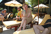 Sandro and Tilda Swinton,  Preparing for the Le Prince Maurice Prize. Mauritius. 26 May 2006. ONE TIME USE ONLY - DO NOT ARCHIVE  © Copyright Photograph by Dafydd Jones 66 Stockwell Park Rd. London SW9 0DA Tel 020 7733 0108 www.dafjones.com