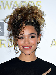 Izzy Bizu attending the BBC Music Awards at the Royal Victoria Dock, London.