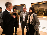 TIM MARLOW; DAVID DAWSON; TAZ FUSTOK, BELLA FREUD, From Life, Royal Academy, Piccadilly, London. 7 December 2017