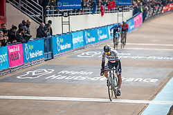 Peter Sagan (SVK) of BORA - hansgrohe (GER,WT,Specialized) during the 2019 Paris-Roubaix (1.UWT) with 257 km racing from Compiègne to Roubaix, France. 14th April 2019. Picture: Thomas van Bracht | Peloton Photos<br /> <br /> All photos usage must carry mandatory copyright credit (Peloton Photos | Thomas van Bracht)