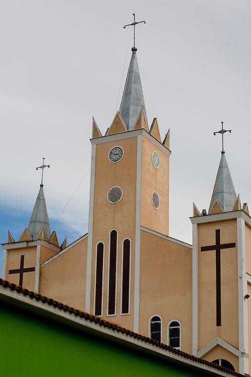 Sao Joao do Manhuacu_MG, Brasil...Igreja catolica em Sao Joao do Manhuacu...The catholic church in Sao Joao do Manhuacu...Foto: BRUNO MAGALHAES / NITRO
