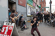 New York , williamsburg , bedford street, trendy area  for artists in Brooklyn New York, Brooklyn - United states