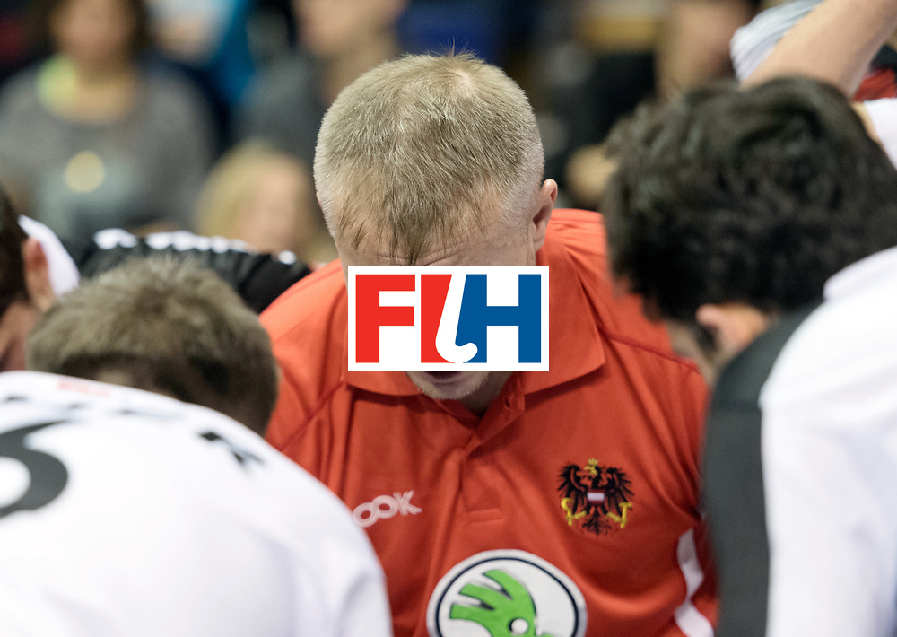 BERLIN - Indoor Hockey World Cup<br /> Quarterfinal 2: Austria - Poland<br /> foto: SZMIDT Tomasz<br /> WORLDSPORTPICS COPYRIGHT FRANK UIJLENBROEK