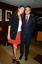 BEN GOLDSMITH and JEMIMA JONES at a party to celebrate Ben Goldsmith guest-editing the July/August 2013 edition of Spears Magazine held at 45 Park Lane, London on 19th June 2013.