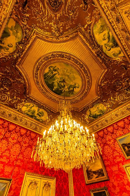 Petits Appartements Napoleon III, Louvre Museum, Paris, France.