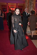 TALLULAH HARLECH, Hollywood Costume gala dinner, V and A. London. 16 October 2012