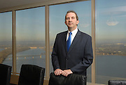 Jeffrey A. McKenzie, CEO of Greenebaum Doll & McDonald PLLC, photographed for BOOM Magazine.