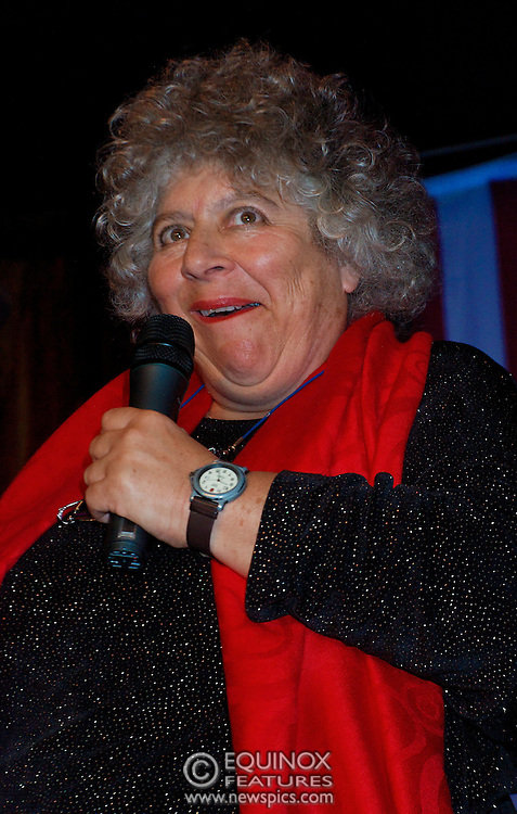 London, United Kingdom - 2 September 2009.Comedienne Ruby Wax and actresses Belinda Lang and Miriam Margolyes performing at gay bar the Royal Vauxhall Tavern, Vauxhall, London, England, UK on 2 September 2009..(photo by: EDWARD HIRST/EQUINOXFEATURES.COM).Picture Data:.Photographer: EDWARD HIRST.Copyright: ©2009 Equinox Licensing Ltd. +448700 780000.Contact: Equinox Features.Date Taken: 20090902.Time Taken: 211612+0000.www.newspics.com