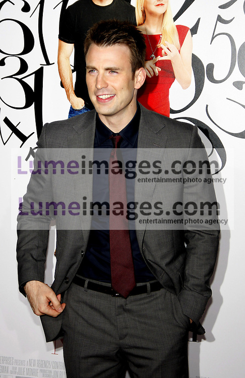 WESTWOOD, CA - SEPTEMBER 19, 2011: Chris Evans at the Los Angeles premiere of 'What's Your Number?' held at the Westwood Village Theater in Westwood, USA on September 19, 2011.