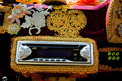 UK ENGLAND LONDON 4APR08 - Detail of ornamental decorations of the interior of one Karma Kar vehicle, London's most bohemian boutique car service...jre/Photo by Jiri Rezac..© Jiri Rezac 2008..Contact: +44 (0) 7050 110 417.Mobile:  +44 (0) 7801 337 683.Office:  +44 (0) 20 8968 9635..Email:   jiri@jirirezac.com.Web:    www.jirirezac.com..© All images Jiri Rezac 2008 - All rights reserved.