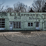 This old building is located in my town and has always been one of my favorites. It has been closed for years.