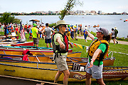 during the Paddle and Portage event, Saturday, July 18, 2015.