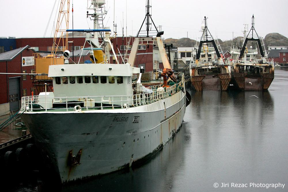 NORWAY LOFOTEN 29MAR07 - Factory trawlers in Stamsund harbour on the Lofoten islands...jre/Photo by Jiri Rezac..© Jiri Rezac 2007..Contact: +44 (0) 7050 110 417.Mobile:  +44 (0) 7801 337 683.Office:  +44 (0) 20 8968 9635..Email:   jiri@jirirezac.com.Web:    www.jirirezac.com..© All images Jiri Rezac 2007 - All rights reserved.