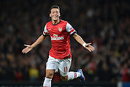 Fussball Champions League 2013/14: Arsenal London - SSC Neapel