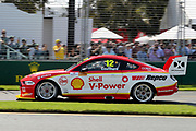 Fabian Coulthard (DJR Penske Shell Ford). Beaurepaires Supercars Melbourne 400, Virgin Australia Supercars Champiobship Round 2. 2019 Rolex Australian F1 Grand Prix, Albert Park Melbourne 14-16 March 2019. Photo Clay Cross / photosport.nz