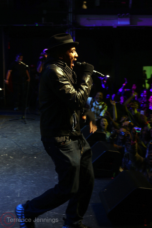 Q-tip performs at The Hennessey Artistry Concert Series held at Terminal 5 on  October 7, 2009 in New York City