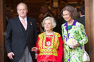 042314 Spanish Royals Deliver 'Miguel de Cervantes 2014 Award' to Mexican author Elena Poniatowska