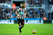 DeAndre Yedlin (#22) of Newcastle United in action during the Premier League match between Newcastle United and Bournemouth at St. James's Park, Newcastle, England on 4 November 2017. Photo by Craig Doyle.