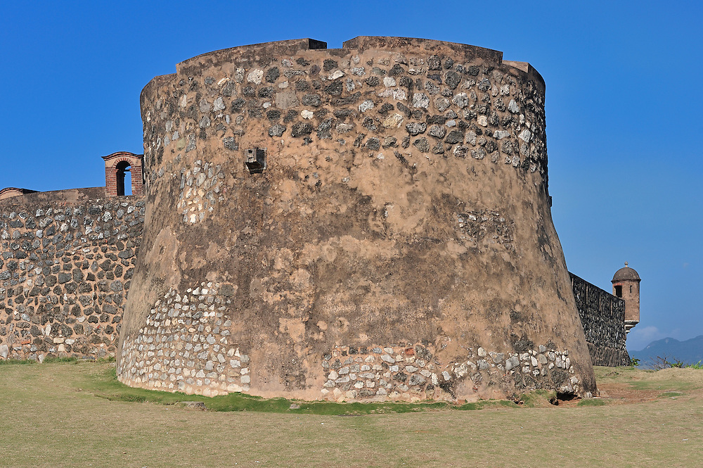 Old Spanish Fort,Museo Fortaleza Colonial San Felipel,Puerto Plata, Dominican Republic, Caribbean