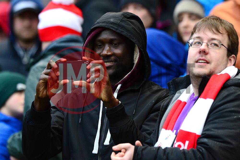 Bristol City fans - Mandatory by-line: Dougie Allward/JMP - 26/12/2017 - FOOTBALL - Ashton Gate Stadium - Bristol, England - Bristol City v Reading - Sky Bet Championship