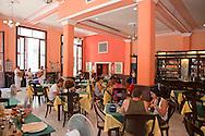 Restaurante Europa in Havana Vieja, Cuba.