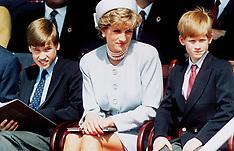 FILE: Princess Diana with William & Harry