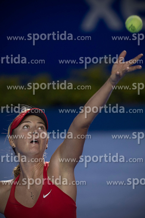 Russia's Maria Sharapova serves during the women's single match against Shelby Rogers of the U.S. at the Abierto Mexicano Telcel tennis tournament in Acapulco, Guerrero, Mexico, Feb. 23, 2015. Sharapova won 2-0. EXPA Pictures &copy; 2015, PhotoCredit: EXPA/ Photoshot/ Alejandro Ayala<br /> <br /> *****ATTENTION - for AUT, SLO, CRO, SRB, BIH, MAZ only*****