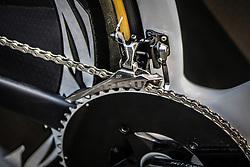 Tony Martin's Shiv Specialized S-Works timetrial bike, Tour de France, Stage 20: Bergerac > Périgueux (ITT), UCI WorldTour, 2.UWT, Bergerac, France, 26th July 2014, Photo by Pim Nijland / PelotonPhotos.com