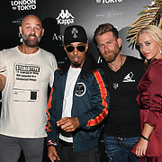 Dallas Austin attend the Official launch party for the annual Gumball 3000 Rally took place at Proud Embankment on August 4 2018, London, UK.