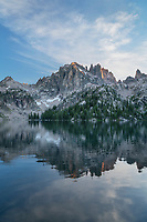 Baron Lake  Sawtooth Mountains Idaho