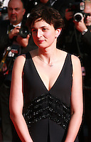 Director Alice Rohrwacher at the Palme d'Or  Closing Awards Ceremony red carpet at the 67th Cannes Film Festival France. Saturday 24th May 2014 in Cannes Film Festival, France.