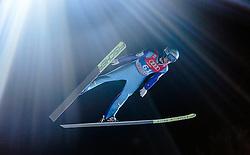 05.01.2016, Paul Ausserleitner Schanze, Bischofshofen, AUT, FIS Weltcup Ski Sprung, Vierschanzentournee, Qualifikation, im Bild Michael Hayboeck (AUT) // Michael Hayboeck of Austria during his Qualification Jump for the Four Hills Tournament of FIS Ski Jumping World Cup at the Paul Ausserleitner Schanze, Bischofshofen, Austria on 2016/01/05. EXPA Pictures © 2016, PhotoCredit: EXPA/ JFK