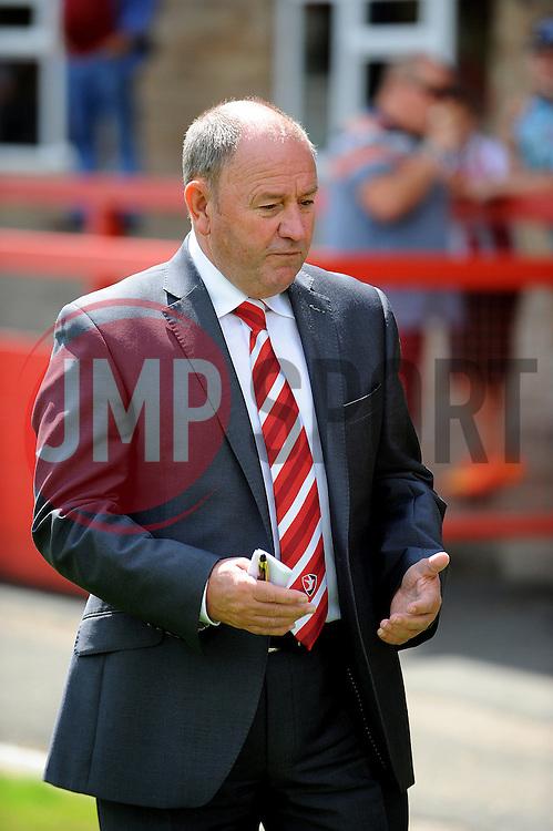 Cheltenham Town manager, Gary Johnson - Mandatory by-line: Neil Brookman/JMP - 25/07/2015 - SPORT - FOOTBALL - Cheltenham Town,England - Whaddon Road - Cheltenham Town v Bristol Rovers - Pre-Season Friendly