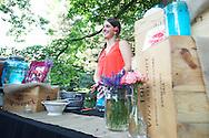 Crystal Sagan of Three Chicks Bartending in Boulder, CO. ©Brett Wilhelm