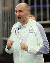 Coach Matija Sestak of Slovenia at the final of Women Triple  jump at the 3rd day of  European Athletics Indoor Championships Torino 2009 (6th - 8th March), at Oval Lingotto Stadium,  Torino, Italy, on March 8, 2009. (Photo by Vid Ponikvar / Sportida)