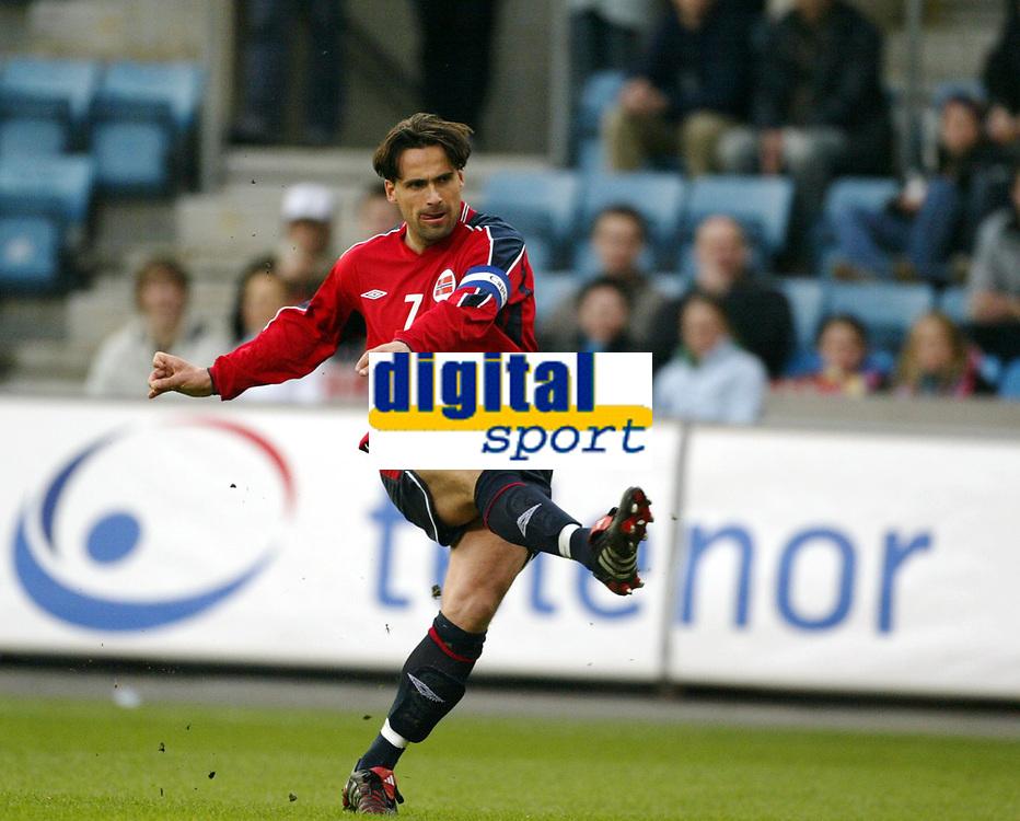 Fotball, 28. april 2004, Privatlandskamp, Norge-Russland 3-2, Martin Andresen, Norge