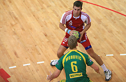 Ales Smejc at handball game RD Slovan vs RD Merkur  in 7th round of MIK First league, on October 24, 2008 in Ljubljana, Slovenia. (Photo by Vid Ponikvar / Sportal Images)