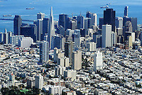 Aerial View, Downtown San Francisco