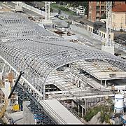 Torino cantiere  della nuova stazione Porta Susa
