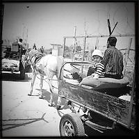Farmers checkpoint Qalqilya, Palestine