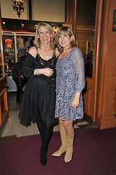 Left to right, INGRID TARRANT and PENNY SMITH at the opening night of Totem by Cirque du Soleil held at The Royal Albert Hall, London on 5th January 2011.