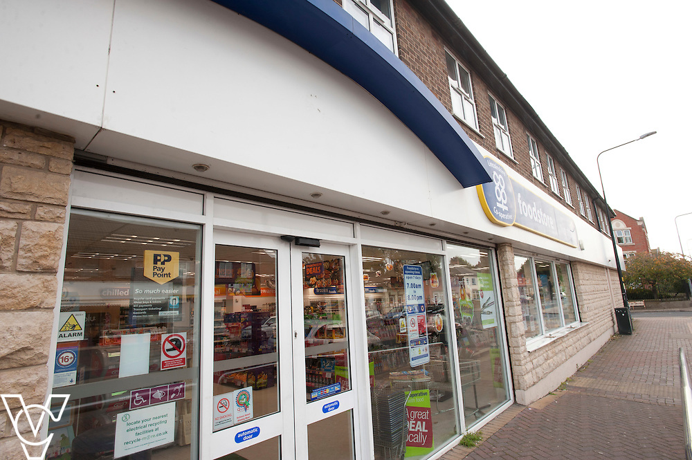 General view of the Lincolnshire Co-operative Nunsthorpe food store in Grimsby<br /> <br /> Denise Black has who works at the Lincolnshire Co-operative Nunsthorpe food store, in Grimsby, has worked for the company for 40 years!<br /> <br /> Picture: Chris Vaughan/Chris Vaughan Photography<br /> Date: October 23, 2015