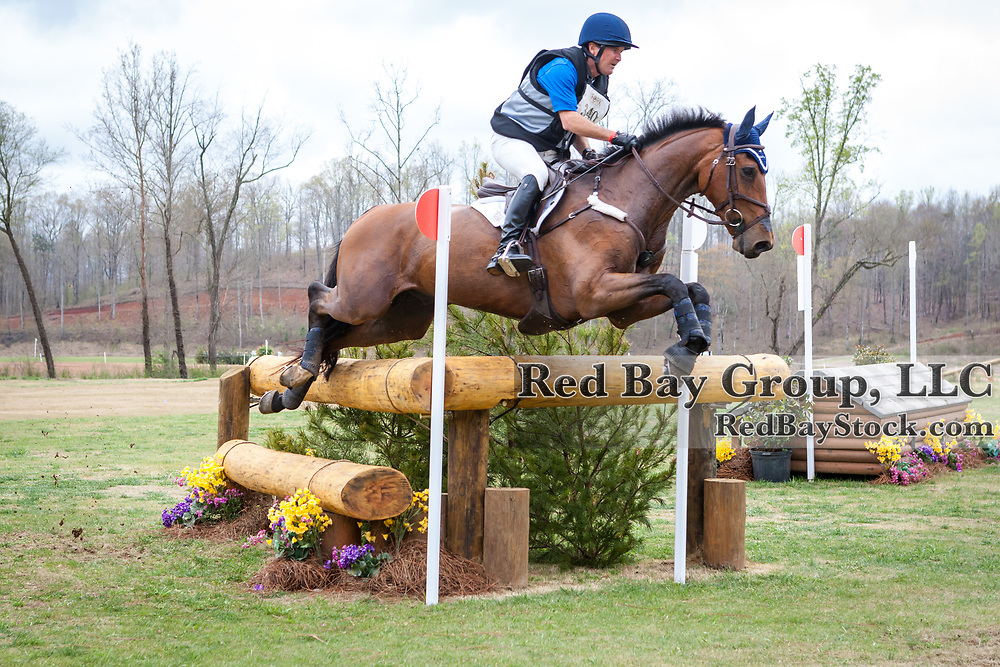 Phillip Dutton (USA) and Z at The Fork Horse Trials at the Tryon International Equestrian Center in Mill Spring, North Carolina.