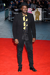 © Licensed to London News Pictures. 16/10/2016. London, UK. BABOU CEESAY attends the film premiere of Free Fire showing at The London Film Festival. Ray Tang/LNP