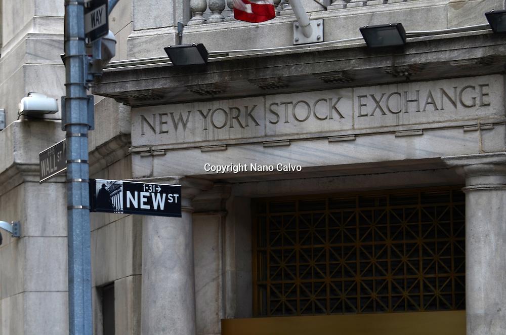 New York Stock Exchange, New York