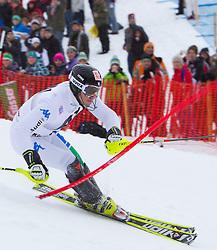 22.01.2012, Ganslernhang, Kitzbuehel, AUT, FIS Weltcup Ski Alpin, 72. Hahnenkammrennen, Herren, Slalom 1. Durchgang, im Bild Stefano Gross (ITA) // Stefano Gross of Italy during Slalom race 1st run of 72th Hahnenkammrace of FIS Ski Alpine World Cup at 'Ganslernhang' course in Kitzbuhel, Austria on 2012/01/22. EXPA Pictures © 2012, PhotoCredit: EXPA/ Johann Groder